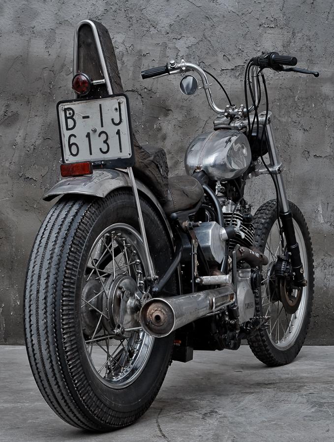 De-Palma-Cycles - XT600 2KF Chopper by Cristian Di Stefano Stefano