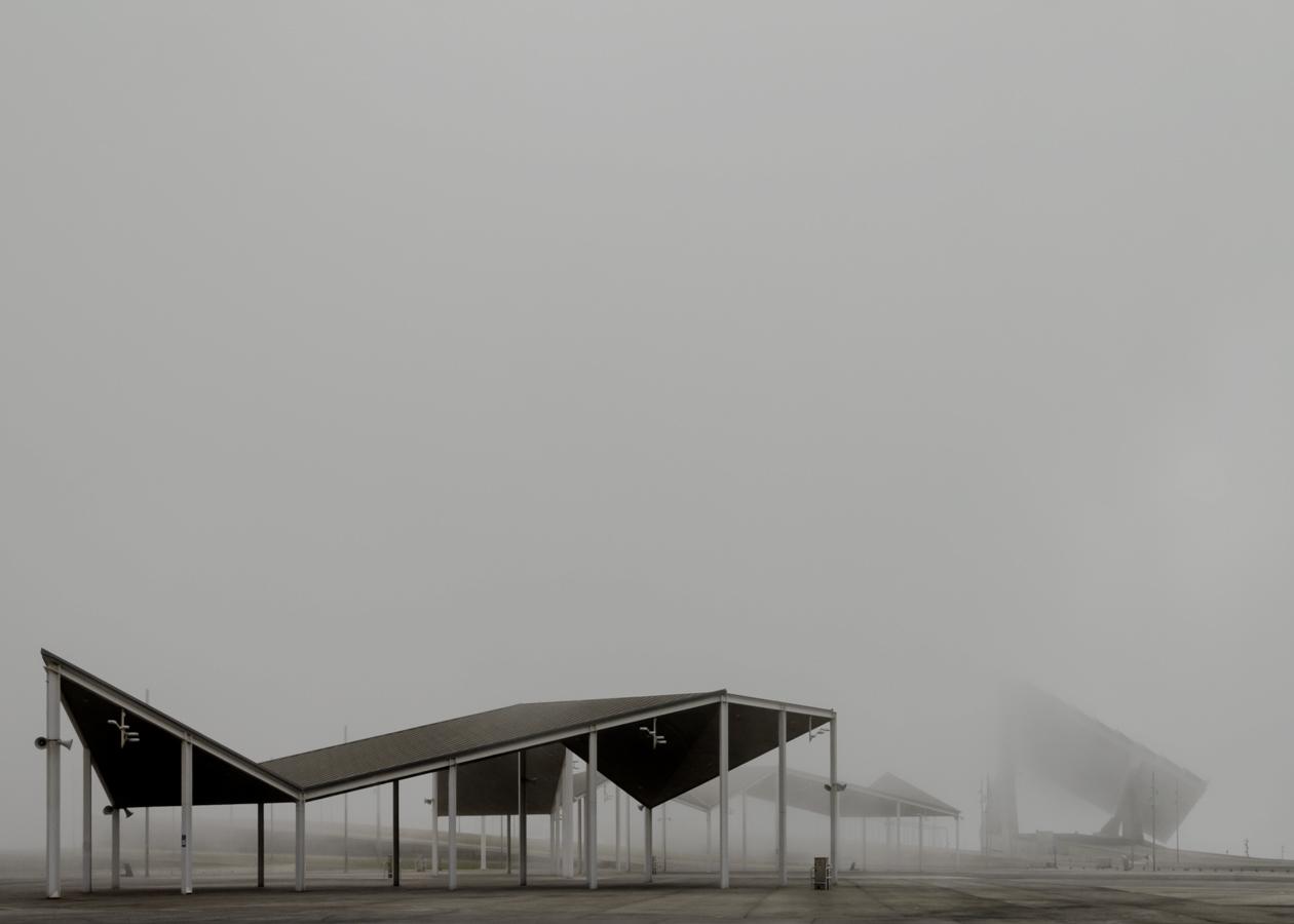 Parc del Fòrum, Barcelona. Print series by Cristian Di Stefano